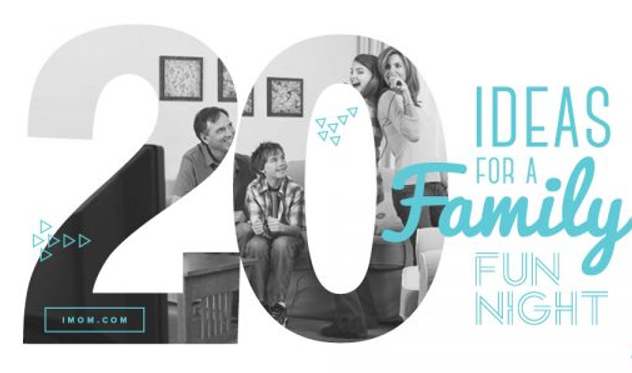 20 Ideas for a Family Fun Night