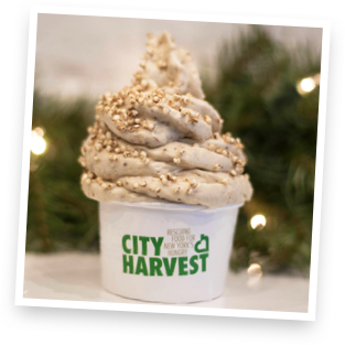 Custom cups for our City harvest Fundraiser event