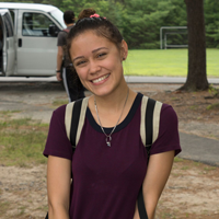 Siara Ramirez - Studying English Education and English Textual Studies at Syracuse University.Eliminating summer learning loss with PMP at M.S. 301 Paul L. Dunbar in the Bronx!