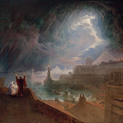 """The Seventh Plague"" by John Martin"