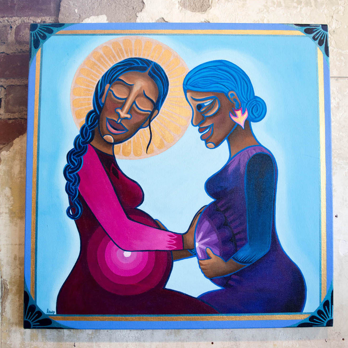 """Mary & Elizabeth   by Lauren Wright Pittman available at """"A Sanctified Art"""""""