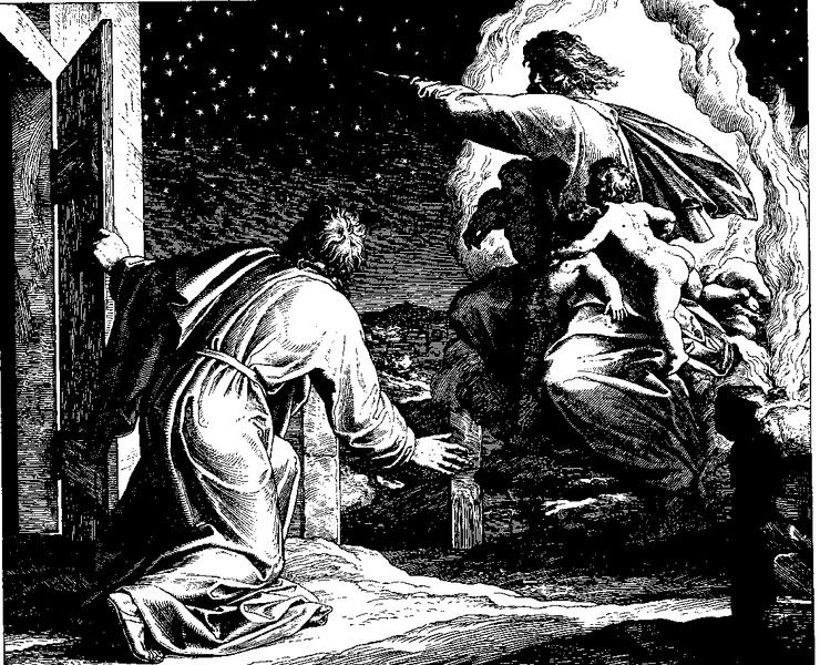 "image: ""Woodcut for ""Die Bibel in Bildern"", 1860. by Julius Schnorr von Carolsfeld ( wikimedia )"