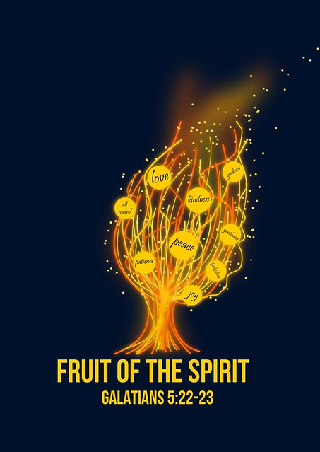 "image:  ""Fruits of the Spirit Fire Tree"" by Tyler Neyens"
