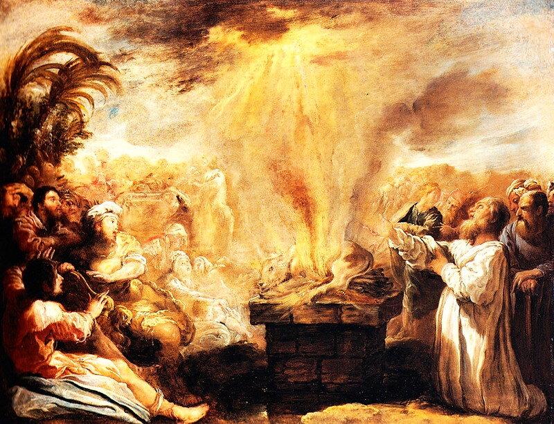 elijah and the priests of baal year 2 week 9 pentecost. Black Bedroom Furniture Sets. Home Design Ideas