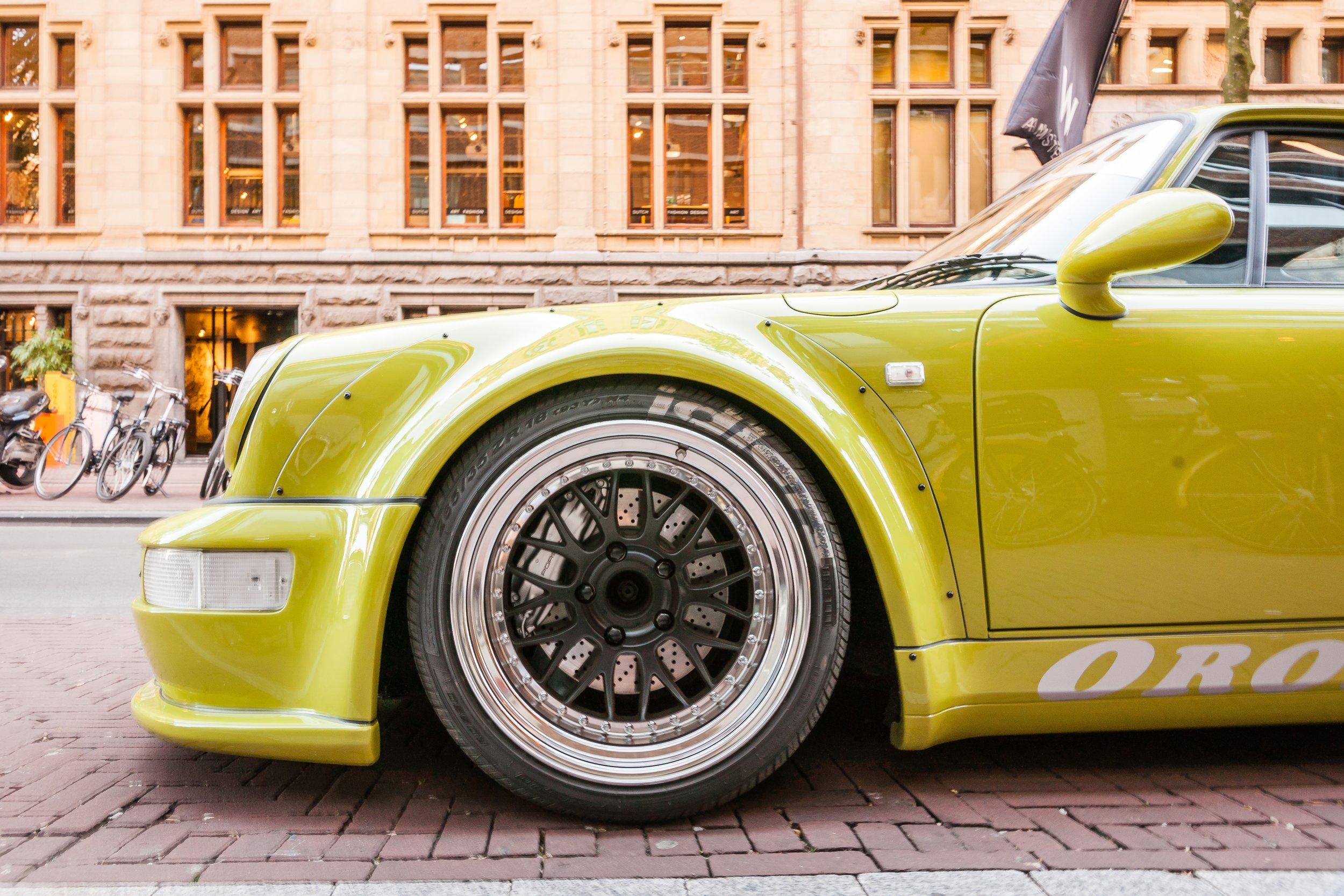 RWB Porsche 964 Wheel details