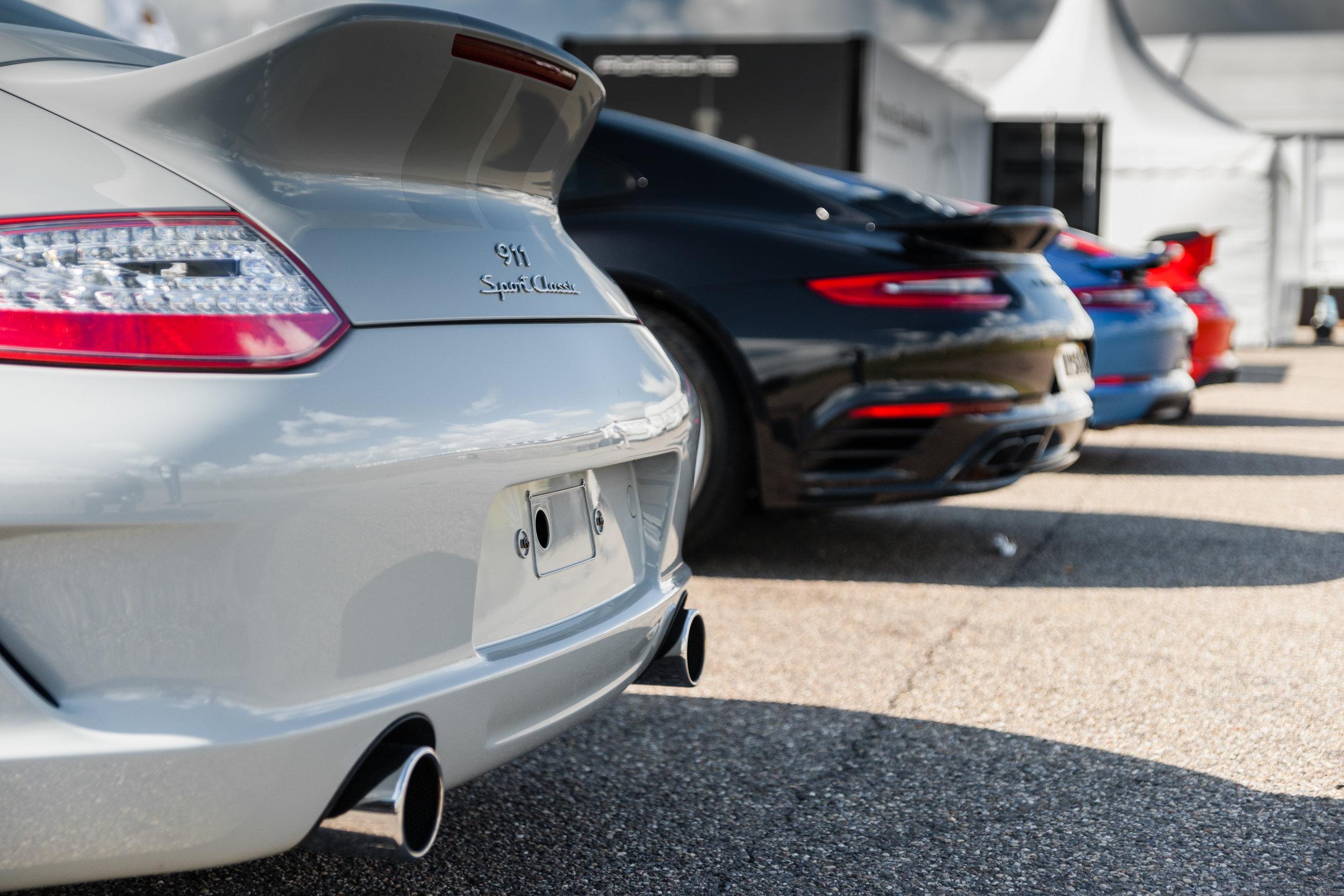 Porsche 911 Sport Classic & Porsche 911 GTS & Porsche 911 Turbo & Porsche GT3 RS