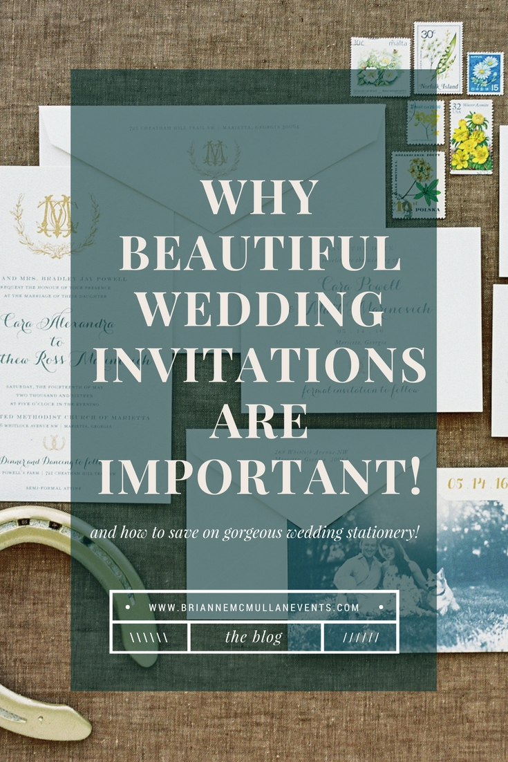 wedding invitations brianne mcmullan events
