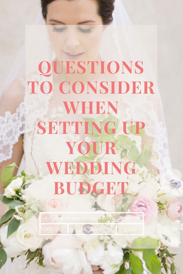 Wedding Budget Tips Brianne McMullan Events