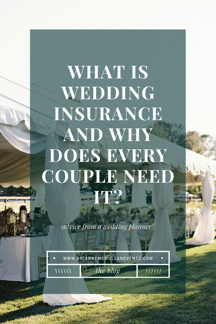 wedding insurance pinterest brianne mcmullan events