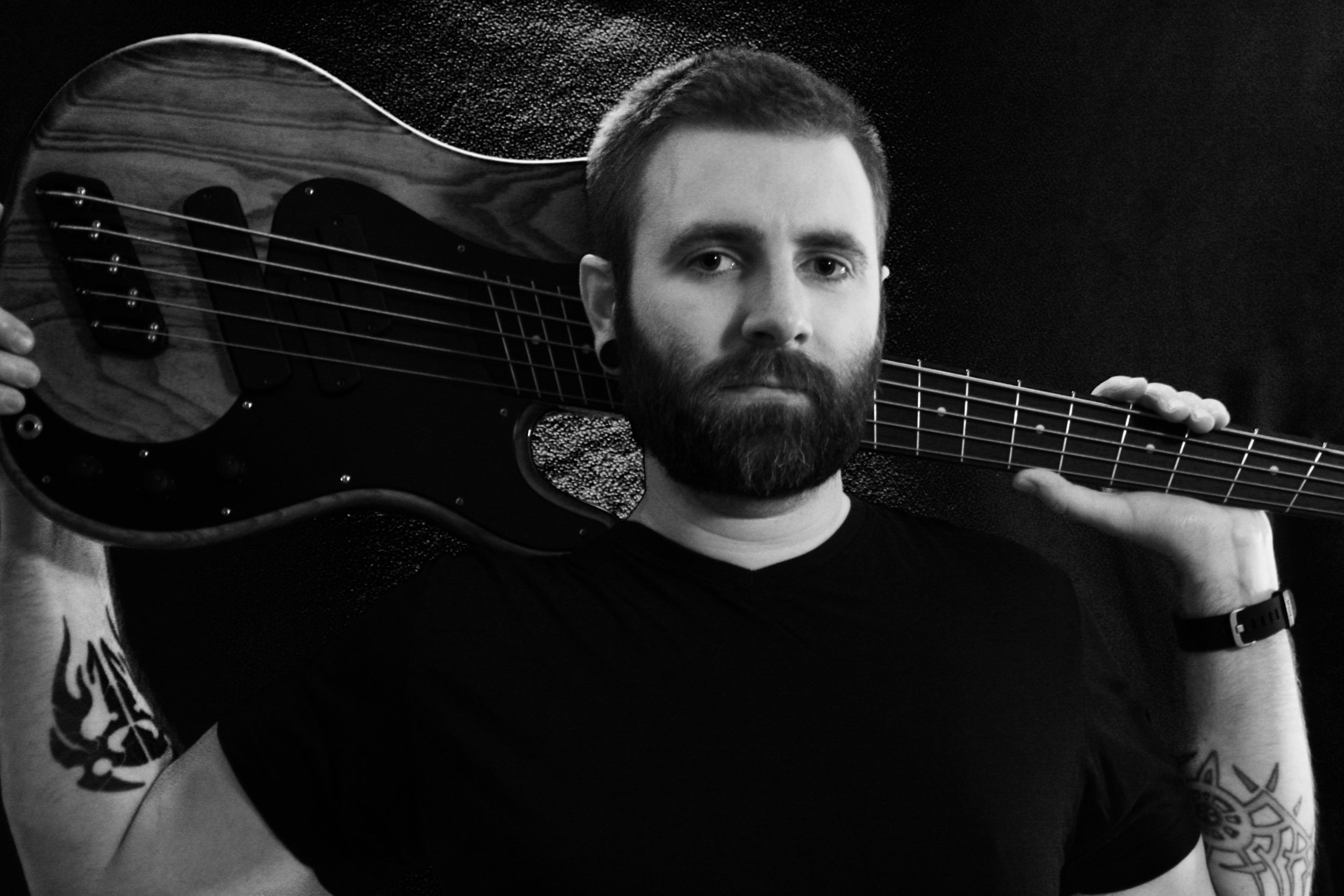 Dustin Samples   - Bass , and more bass . Off the hook grooves. Superb even keel .  Facebook