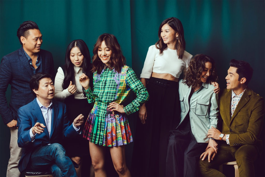 The cast of  Crazy Rich Asians , shot by Rozette Rago for the New York Times