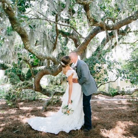 Ben And Margaret Gross, bride and groom.