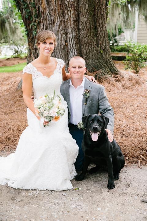 lowcountry-kitchen-catering-beaufort-sc-ben-and-margaret-gross-wedding-bride-groom-dog.jpeg