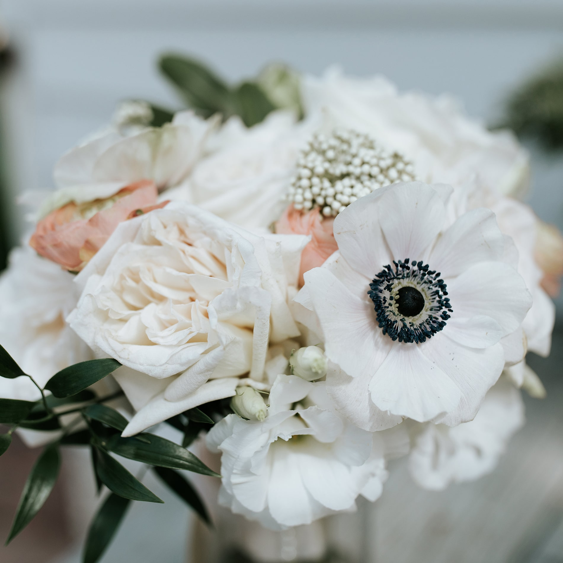 Flowers at the Mary Grace and Judd Kennedy wedding.