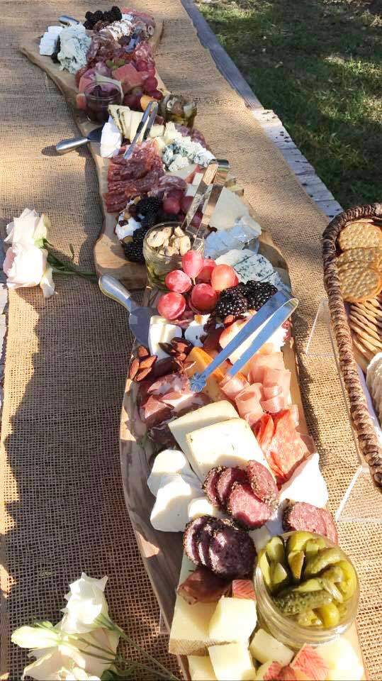 Charcuterie at the Dave and Erica Hein Wedding.
