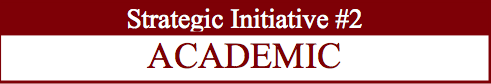 STRATEGIC INITIATIVE #2 - ACADEMIC