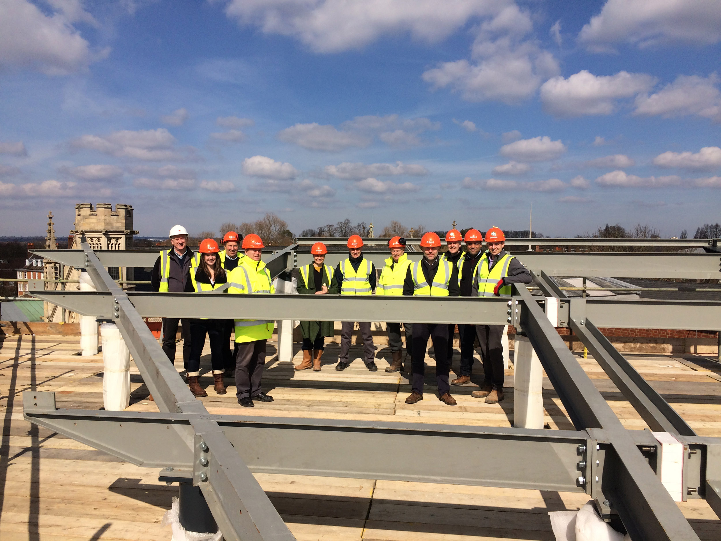 Queens Schools topping out ceremony.jpg