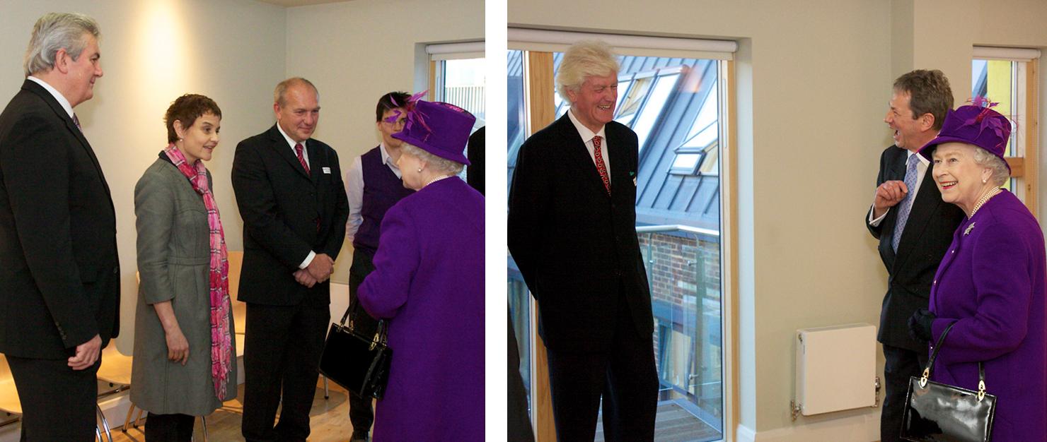 2011 12 - Queens visit opening of Dedworth Medical Centre.jpg