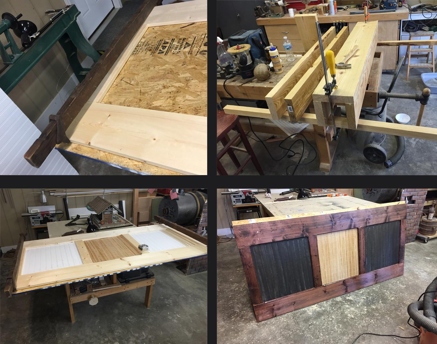 Bar Panel Construction