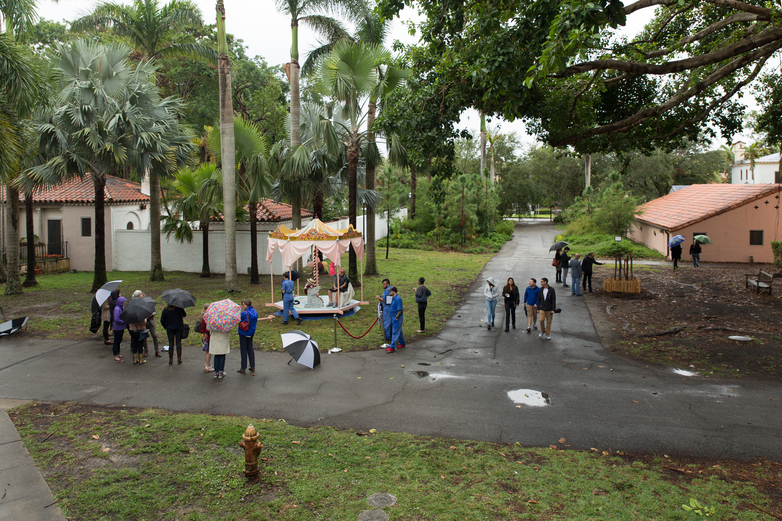 Village Carousel , Vizcaya Museum and Gardens- Miami, FL, December 2017