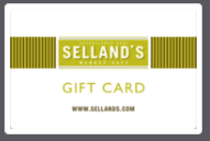 Selland's Gift Card