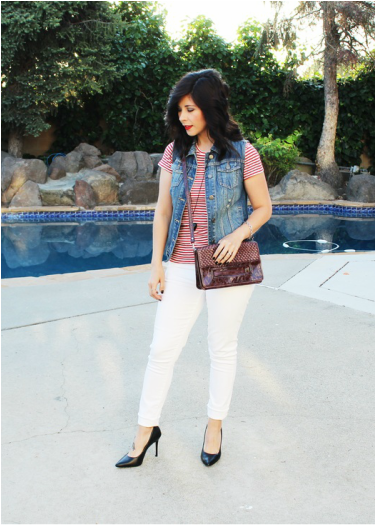White Pants - Make any outfit feel crisp and sharp!