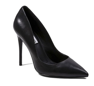 Black steve madden pump