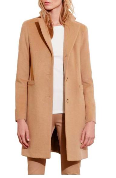 Ralph Lauren camel coat