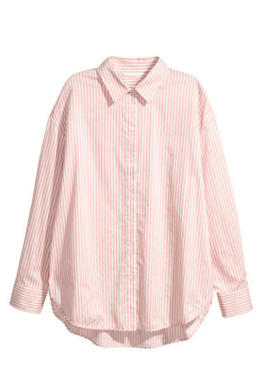 dress shirt white and pink