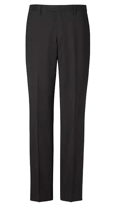 Men's Black Suit Pants