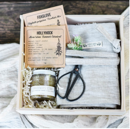 Garden lover curated gift box