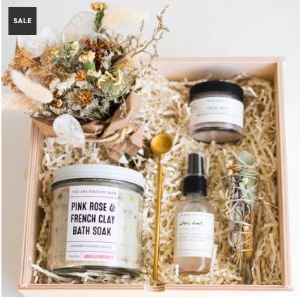 Self-love curated gift box