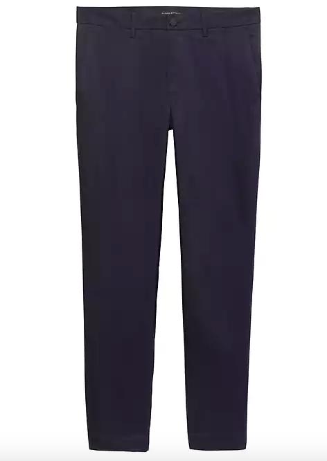 mens navy blue dress pants
