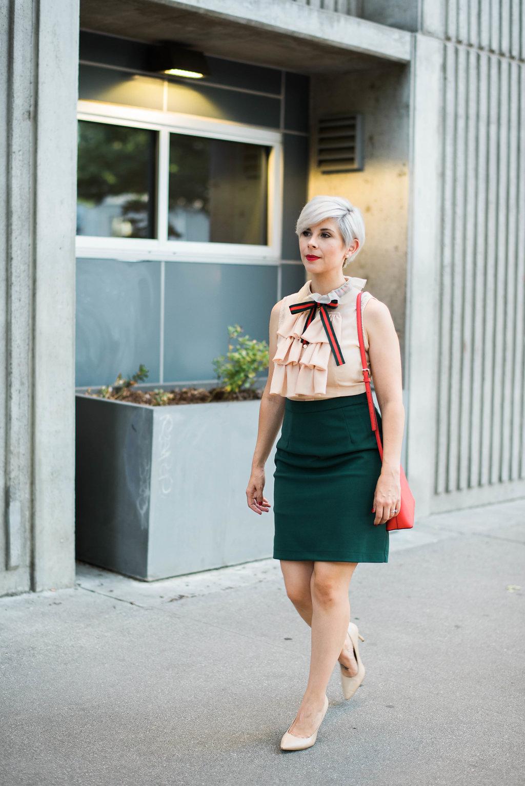 Gucci Inspired Derby Dress