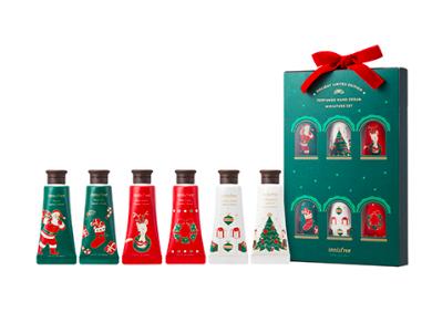 Innisfree holiday perfumed hand cream miniature set