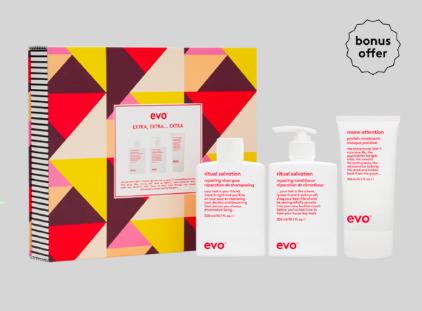 EVO hair repair gift set