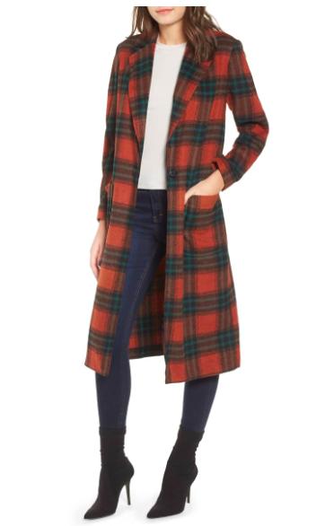 Fall Colored Coat