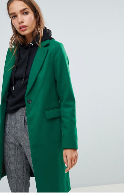 Emerald Green Coat