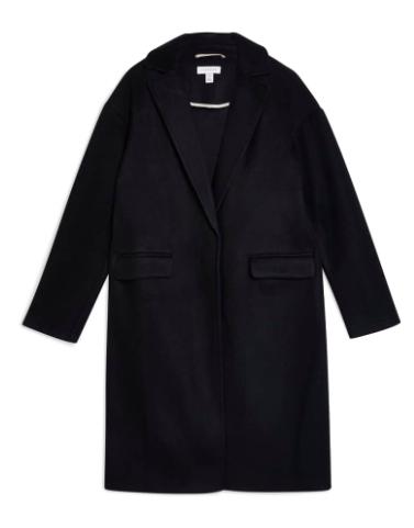 Black Midi Coat
