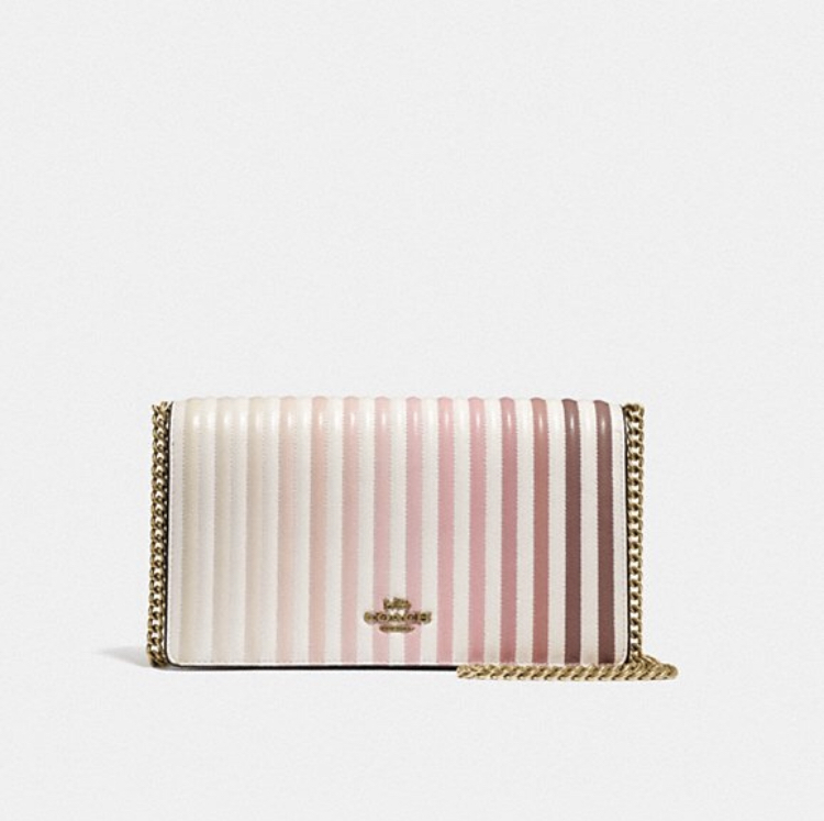 Callie Foldover Chain Crossbody Handbag