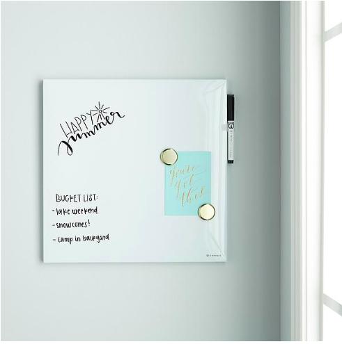 Copy of chic dry erase board