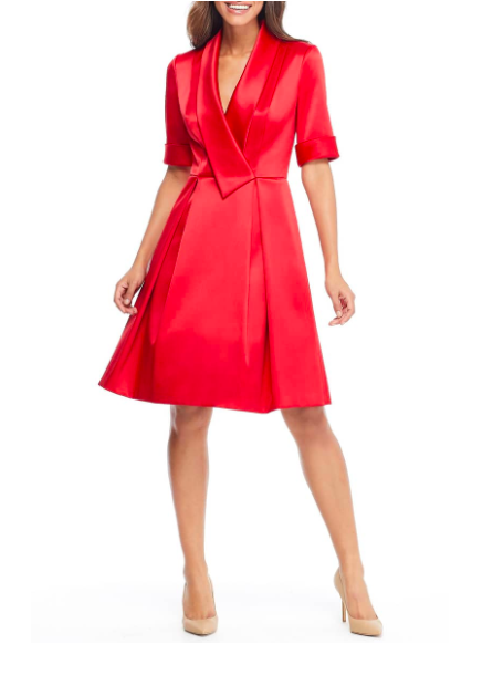 Gal Meets Glam Red Dresss