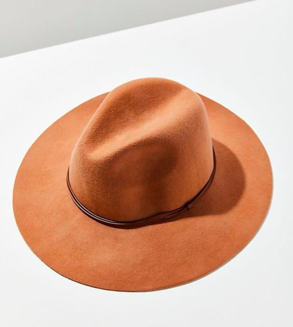 Felt Panama Hat in beige