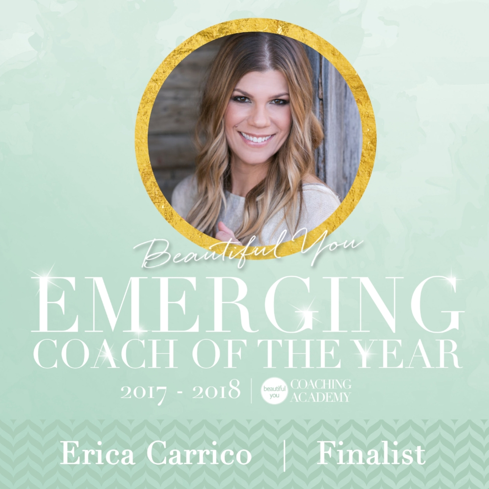 Emerging Coach of the Year Erica Carrico