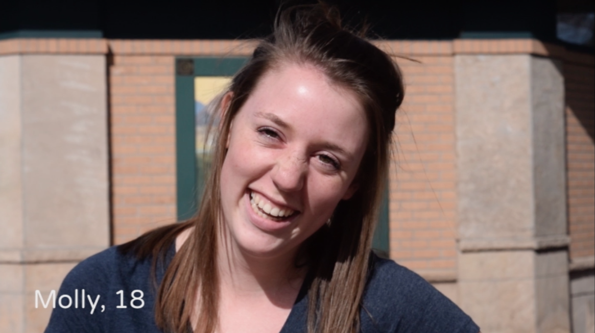 """University of Colorado student says """"confidence"""" is what she finds most attractive in men."""