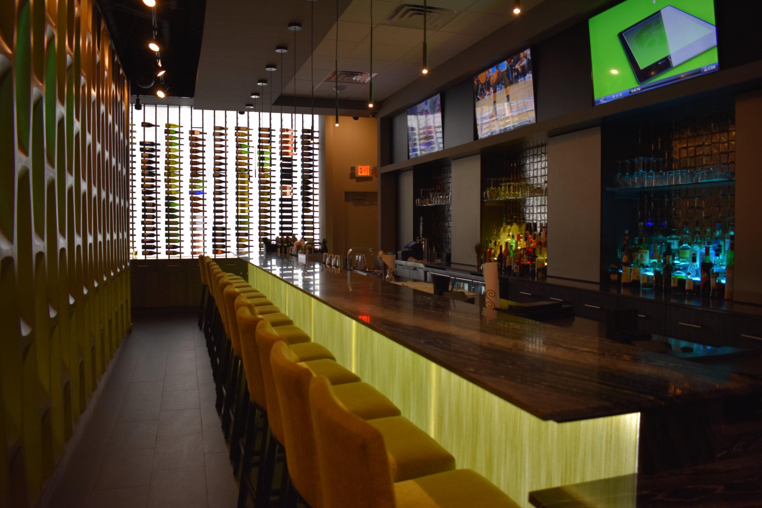 Bar do restauranteFuji at ink Block