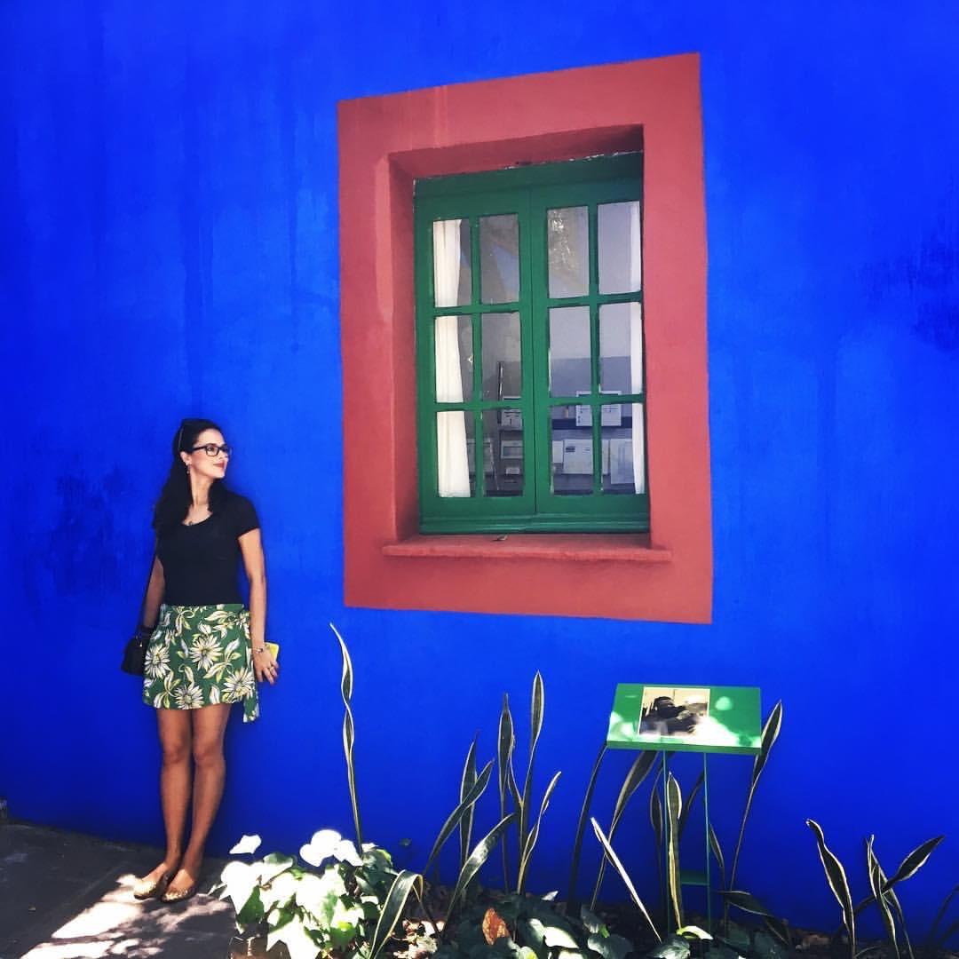 Casa e Jardim da Frida: cores vibrantes e história da artista
