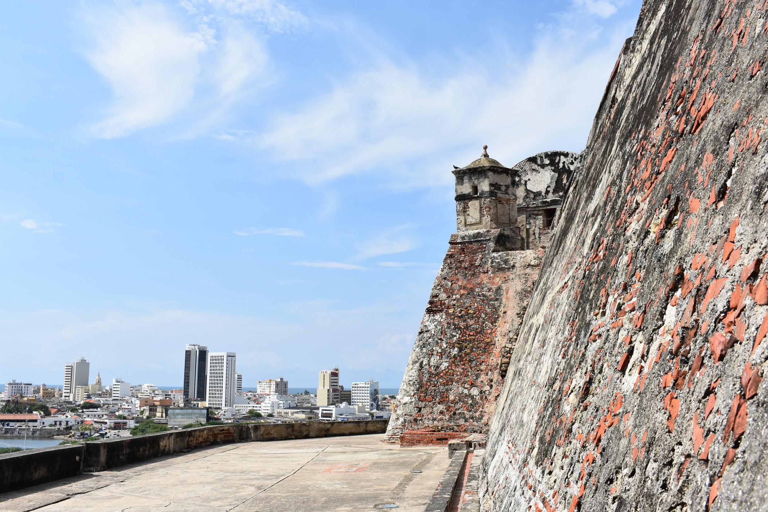 Castilho de San Felipe Barajas: um forte com vista para toda a cidade de Cartagena