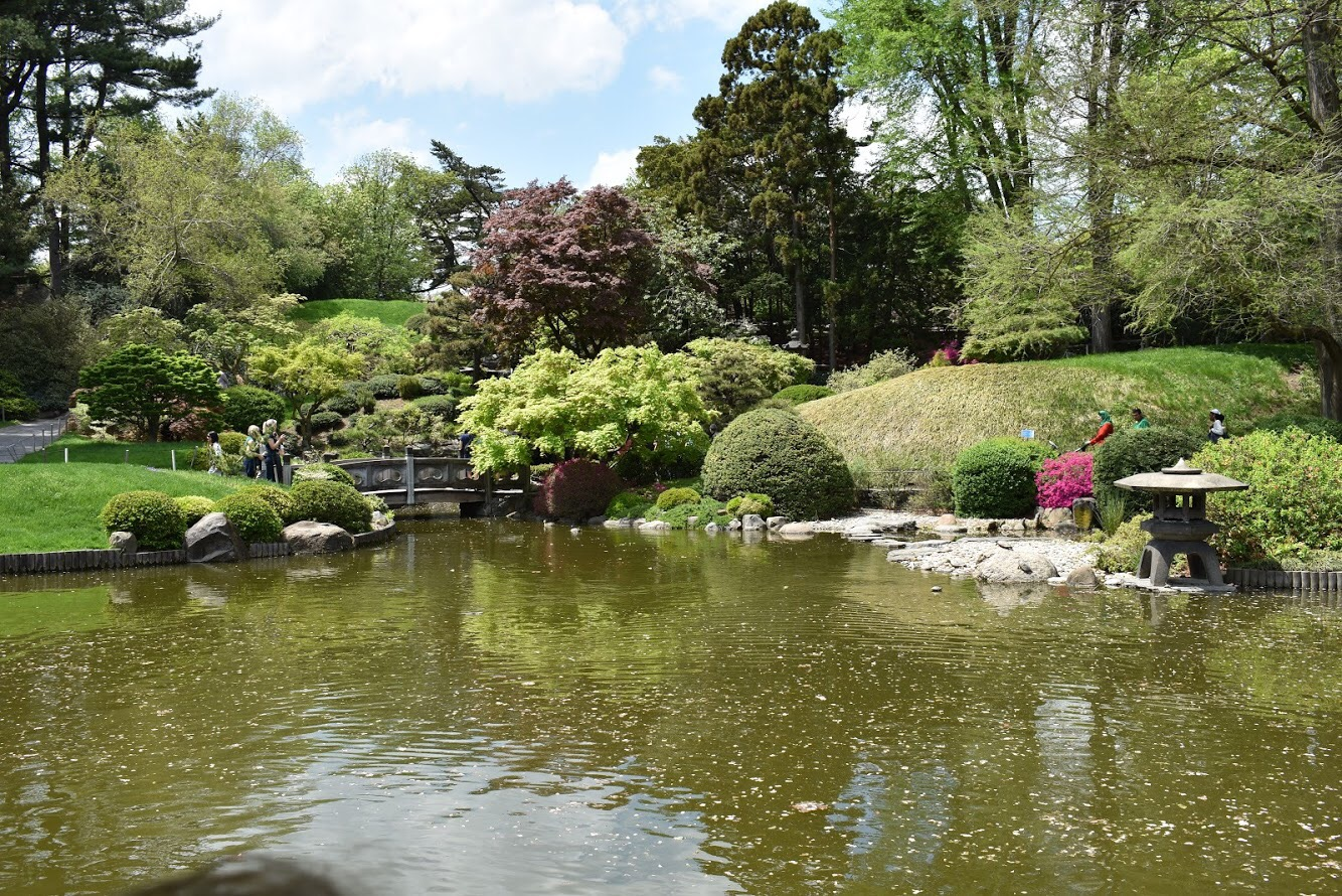 Outro ângulo do Jardim Japonês