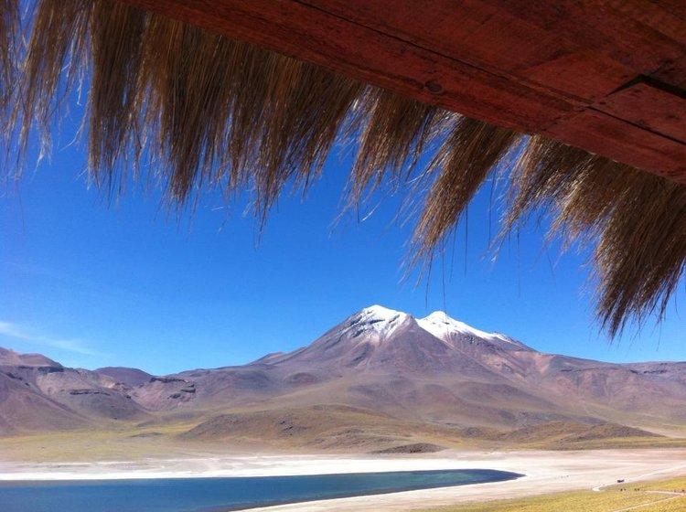 Atacama, com uma das primeiras fotos do blog, com meu Iphone 5